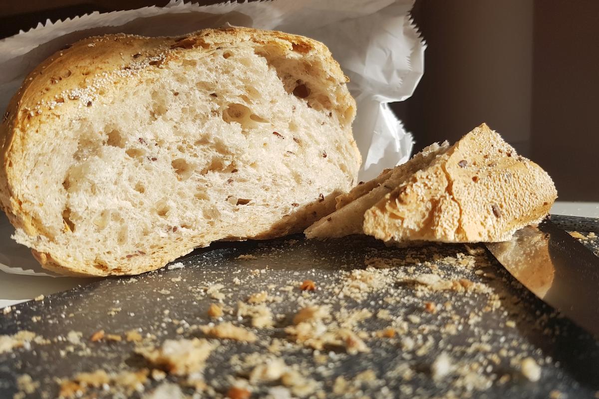 パンとパンくず