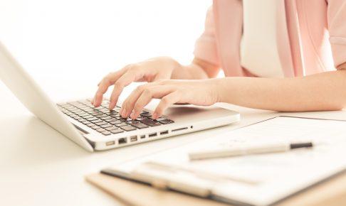 パソコンと女性